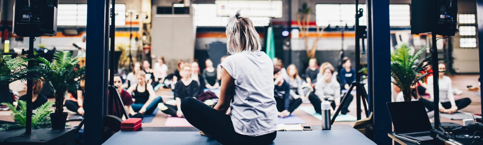 Commitment and Discipline blog on The Fat Yogis